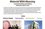 Material With Meaning - Artist Talk